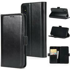 Flip Magnetic LUXURY Leather Wallet Purse Card Cover Case For iPhone 10 X 8 Plus