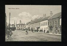 Ireland ANTRIM High St street scene Antrim Arms c1900s? PPC local pub McKeown