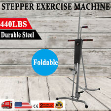 440lbs Vertical Climber Machine Exercise Stepper Maxi Fitness Gym Monitor Manual