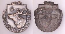 XD.229} CROATIA Hunting Association / vintage badge