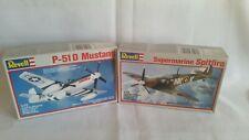 Revell 1:72 , Mustang P-51 und Spitfire.