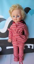 Eegee Plastic Doll Vintage with Red Outfit 20� Blonde