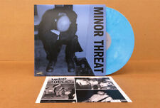 """Minor Threat - self-titled / First Two 7""""s LP blue colored vinyl"""