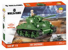 COBI M4 Sherman World of Tanks SET# 3007 A (500 Pcs.) US SELLER, WWII, Tank, NEW