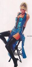 THE FEDERATION RUBBER LATEX 2 ZIP  LONG SKIRT  NEW