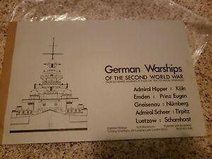 "German Warships of WWII technical drawings Tirpitz Scharnhorst more 17"" x 11"""