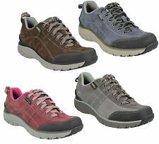 WAVE TRAIL GTX LADIES CLARKS LEATHER LACE UP CASUAL WATERPROOF TRAINER SHOES