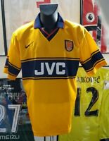 maillot jersey camiseta trikot maglia shirt arsenal 1999 2000 99/00 JVC vintage