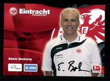 Edwin Boekamp Autogrammkarte Eintracht Frankfurt 2010-11 Original Signiert