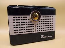 Vintage Emerson Small Portable Tube Radio Model 801