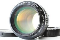 """ Near MINT "" Minolta MD Rokkor 85mm F/1.7 Portrait MF Lens MD Mount From Japan"