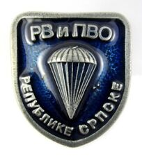 Serbia Air Force and Air Defense Parachute Paratroopers Badge
