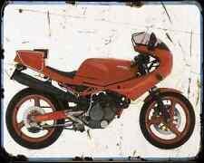 Gilera Saturno 500 88 A4 Metal Sign Motorbike Vintage Aged