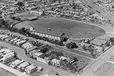 FOOTSCRAY Victoria Football Oval Aerial View c1925-30 modern digital Postcard