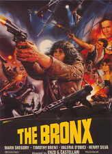 ESCAPE FROM THE BRONX Movie POSTER 27x40 Mark Gregory Henry Silva Valeria DObici