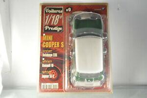 """JN273 Solido """"Voitures de Prestige"""" #9 1:18 Mini Cooper S + Fasicule"""