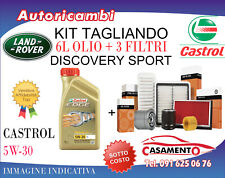 KIT TAGLIANDO LAND ROVER DISCOVERY SPORT 2.0SI4 177KW-9/2014 > + 6L CASTROL 5W30