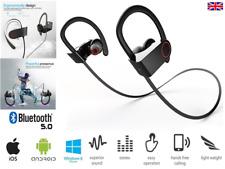 Sweatproof bluetooth running Headphones earbuds wireless sport Iphone Samsung