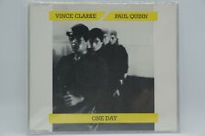 Vince Clarke & Paul Quinn - One Day (4 track CD Single) RARE