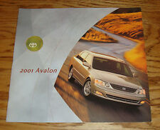 Original 2001 Toyota Avalon Sales Brochure 01