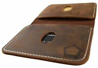 KNOXX minimalist rugged leather mens wallet only wallet you need CHRISTMAS