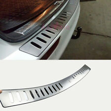 For Audi Q5 2009-2017 Rear Bumper Door Sill Chrome Car Styling Accessories