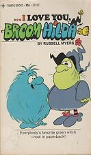 RUSSELL MYERS I LOVE YOU BROOM HILDA Clean & Collectible 1973 Gaylord Nerwin
