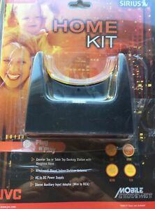 JVC Sirius Satellite Radio Plug-N-Play Home Kit KS-K6003 (Open Box Never Used)