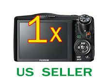 1x Fujifilm FinePix F750EXR Clear LCD Screen Protector Guard Shield Film