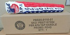 PABST BLUE RIBBON APA AMERICAN PALE ALE PATRIOTIC BEER TAP HANDLE NEW IN BOX 12I