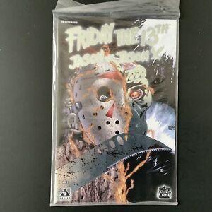 Friday The 13th Jason vs Jason X #2, Platinum Foil Edition Avatar Press