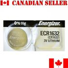 1 NEW Energizer Battery CR1632 1632 3v lithium batteries ECR1632 DL1632
