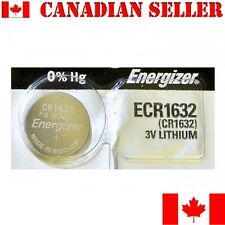 1 NEW Energizer Battery CR1632 1632 3v lithium batteries ECR1632 DL1632