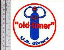 SCUBA Diving USA US Divers Aqua-Lung Mid 1960 to mid 1970 ''Old Timer'' re wh bl