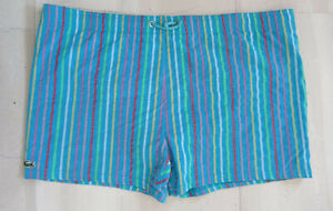 Lacoste swimming shorts (size 4-Medium)