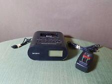 Sony FM iPod Dock Clock Radio