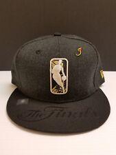 New Era 9Fifty NBA The Finals Warriors v Cavaliers Black Gold Snapback Hat