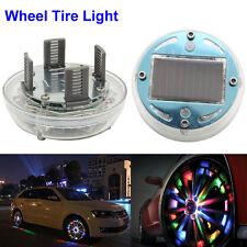 Bright Car Wheel Decoration LED Lights Solar Energy Flash Tire Rim Lamp RGB Lamp