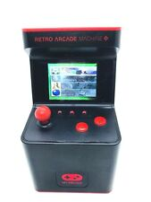 Dreamgear Retro Arcade Machine Portable Handheld W/ 300 Video Games Mini Red