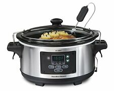 Home Travel Slow Cooker Dining Roast Cooking Meat Chicken Dessert Crock Pot Oval