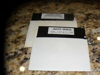 "Ant Hill & Desert Frog Screen Scenes PC Programs 5.25"" disks"