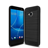 Dooqi Shockproof Armor Carbon Fiber Hybrid Brush Case Cover For HTC U11 Life