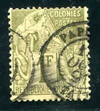 OCEANIE 1891 Yvert CG 59 gestempelt PAPETE TAITI (S5534