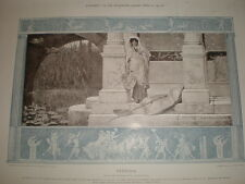 Fishing by Lawrence Alma-Tadema 1905 print Ref L
