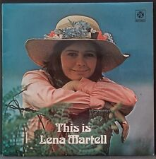 LENA MARTELL - THIS IS LENA MARTELL ORIG PYE ENGLISH PRESS EX++ COND NSPL 18414