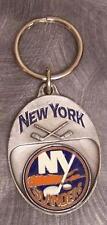 NHL Pewter Key Ring New York Islanders NEW
