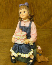 Boyds Dollstone #3591 Kaitlyn.Make A Wish, New/Box From Retail Store Birthday