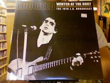 Lou Reed Winter at the Roxy 1976 LA Broadcast 2xLP sealed vinyl