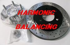 04-08 F150 2WD 4x2 Drilled Slotted Brake Rotors Harmonic Balancing Design Front