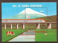 EQUATORIAL GUINEA Mi1368 1987 LOCOMOTIVES MNH